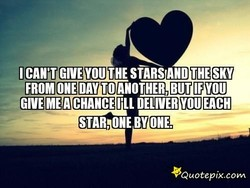 GIVE YOU THE stns AND THE SKY 
