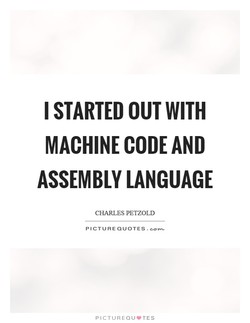 I STARTED OUT WITH 