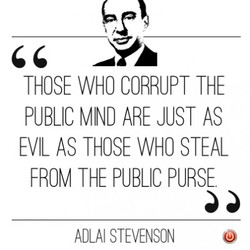 THOSE WHO CORRUPT THE 