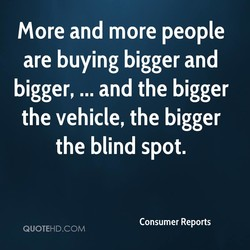 More and more people 