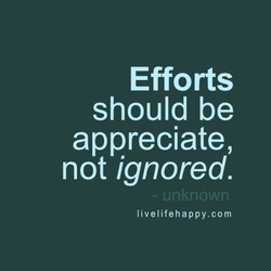 Efforts 