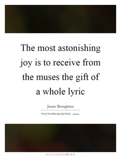 The most astonishing 