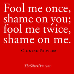Fool me once, 