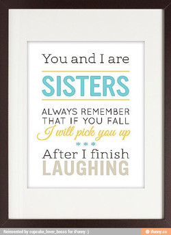 You and I are 