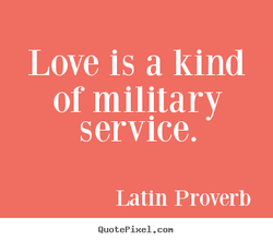 Love is a kind 