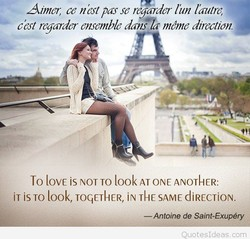 Aimer, ce nbstpas se regarder lin llrutre, 