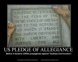 PLEDGE ALLEGIANC 