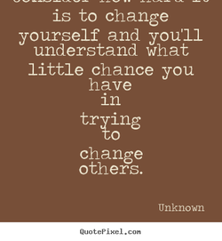 is to change 