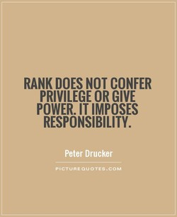RANK DOES NOT CONFER 