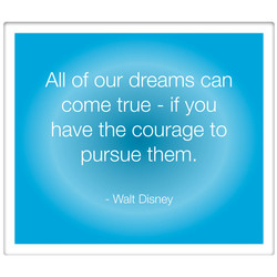 All of our dreams can 