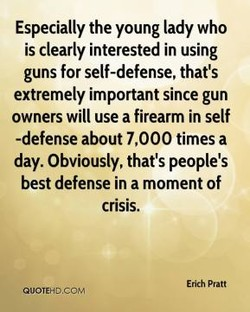 Especially the young lady who 