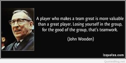 A player who makes a team great is more valuable 