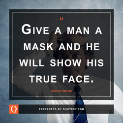GIVE A MAN A 