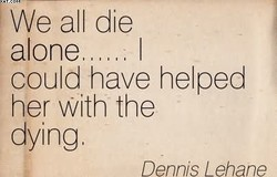 We all die 