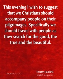 This evening I wish to suggest 