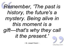 R member, 'The past is 