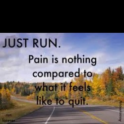 JUST RUN. 
