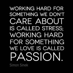 WORKING HARD FOR 