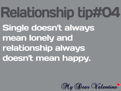 Relationship tip#04 