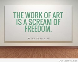 THE WORK OF ART 
