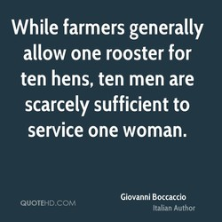 While farmers generally 