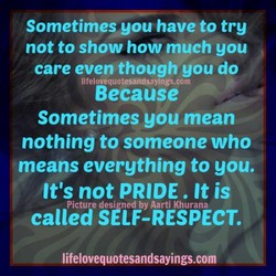 Sometimes you have to try 