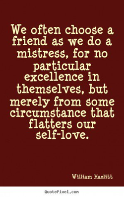 We often choose a 