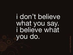 i don't believe 