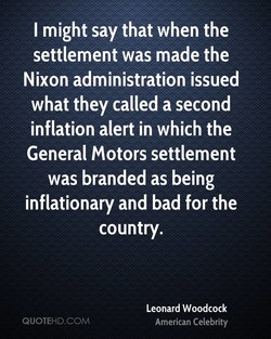 I might say that when the 