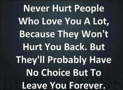 Never Hurt People 