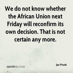 We do not know whether 