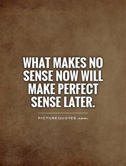WHAT MAKES NO 