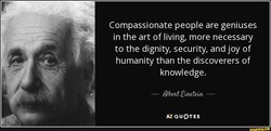 Compassionate people are geniuses 
