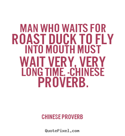 MAN WHO WAITS FOR 