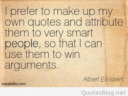 I prefer to make up my 