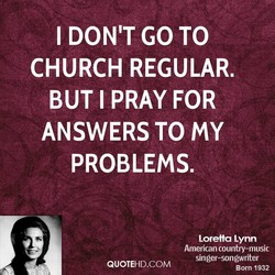 I DON'T GO TO 