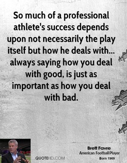 So much of a professional 