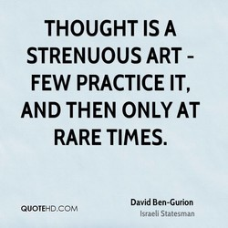 THOUGHT A 