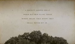 A SOCIETY GROWS GREAT 