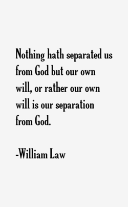 Nothing hath separated us 