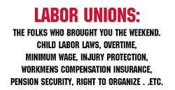 LABOR UNIONS: 