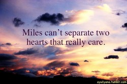 Miles can't separate two 