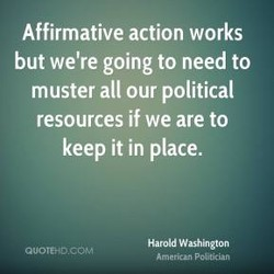 Affirmative action works 