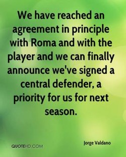 We have reached an 