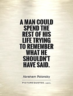 A MAN COULD 