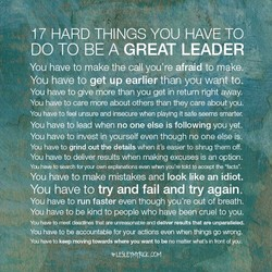 17 HARD THINGS YOU HAVE TO 