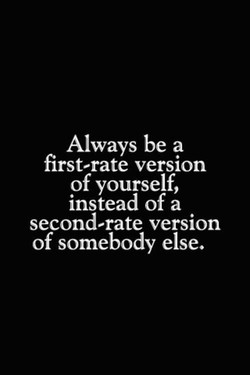 Always be a 