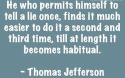 He who permits himself to 
