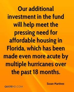 Our additional 