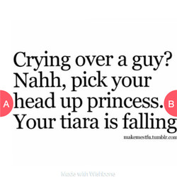 ClYing over a guy? 